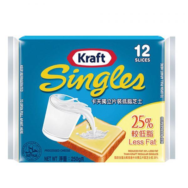 全球銷售No.1卡夫低脂起司片-澳洲 1