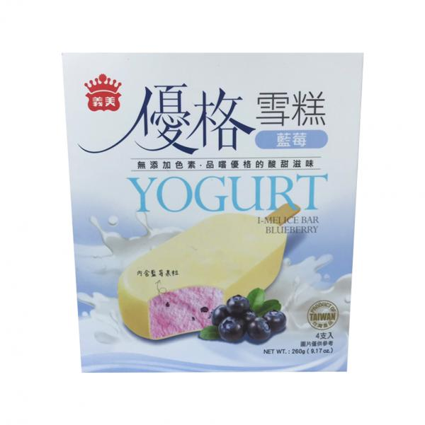 義美優格4入雪糕-藍莓(奶素) 2