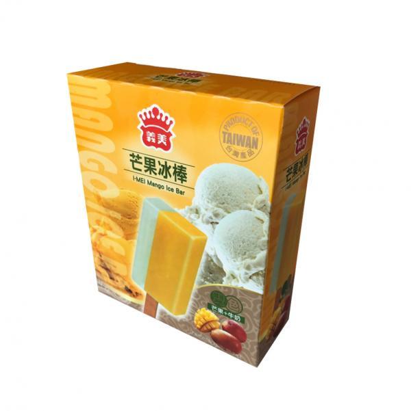 義美5入雙色冰棒-芒果牛奶(奶素) 1