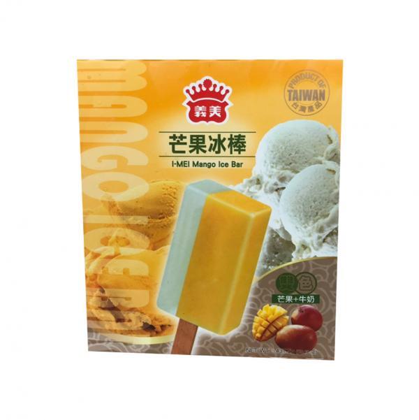義美5入雙色冰棒-芒果牛奶(奶素) 2