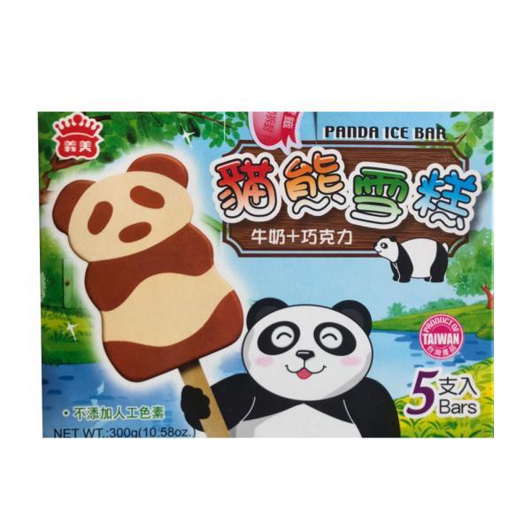 義美5入雪糕-貓熊雪糕(奶素) 2