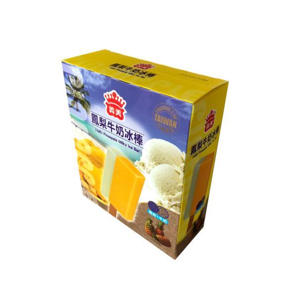 義美5入雙色冰棒-鳳梨牛奶(奶素) 1