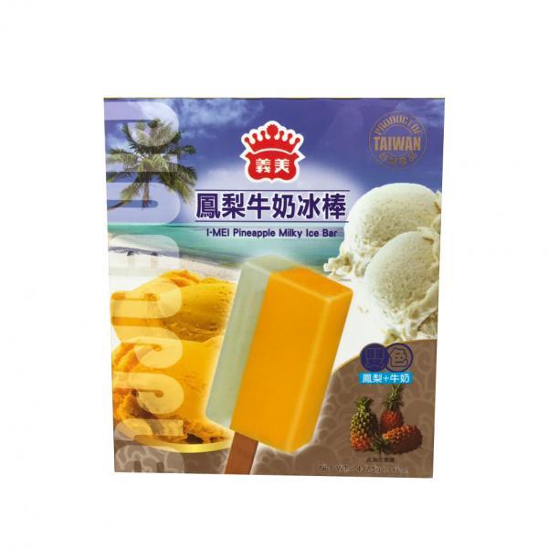 義美5入雙色冰棒-鳳梨牛奶(奶素) 2