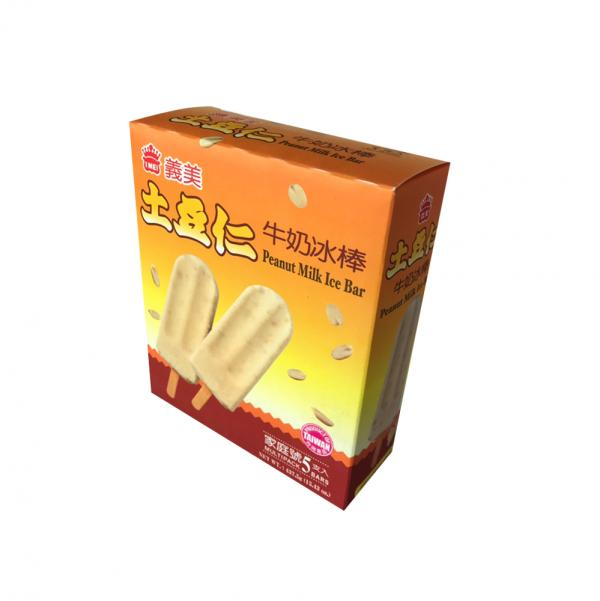 義美5入-土豆仁牛奶冰棒(奶素) 1