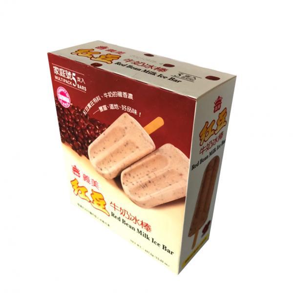 經典義美5入-紅豆牛奶冰棒(奶素) 1