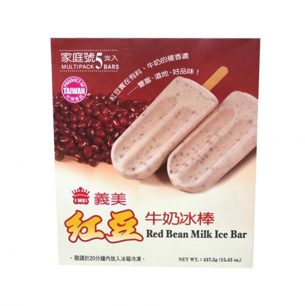 經典義美5入-紅豆牛奶冰棒(奶素) 2