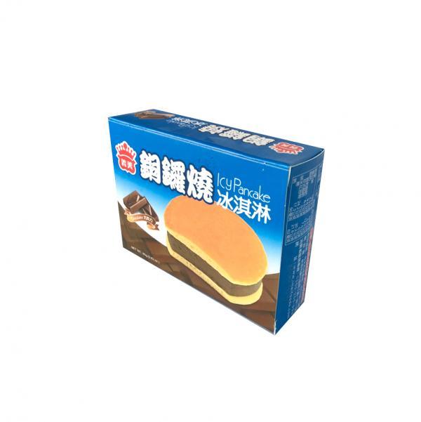 義美銅鑼燒冰淇淋-巧克力(奶素) 1