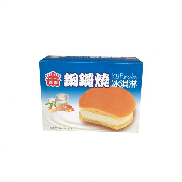 義美銅鑼燒冰淇淋-香草(奶素) 2