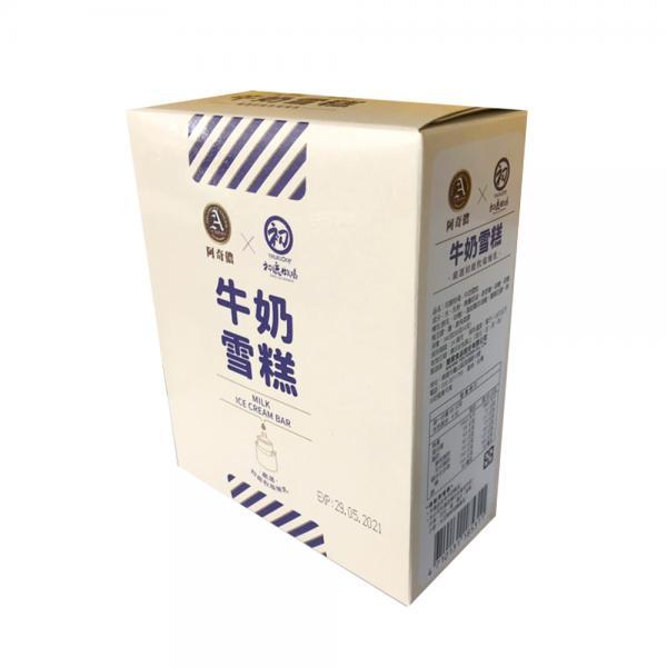 【阿奇儂&初鹿牧場】牛奶雪糕4入 1