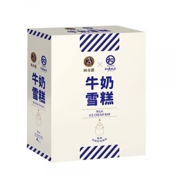 【阿奇儂&初鹿牧場】牛奶雪糕4入 2